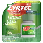 Zyrtec Liquid Gels