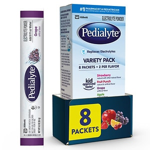 Pedialyte Oral Electrolyte Maintenance Powder, Variety Pack