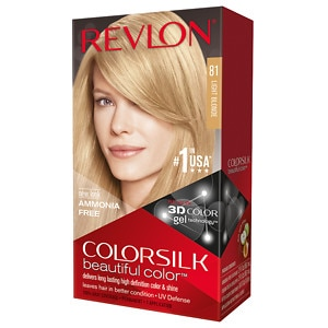 Revlon Colorsilk Beautiful Color, Light Blonde 81- 1 ea