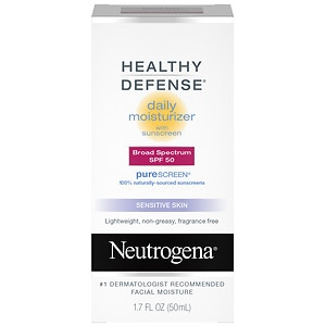 Neutrogena Healthy Defense Daily Moisturizer SPF 50 with PureScreen- 1.7 oz