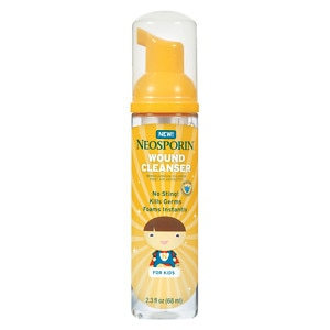 Neosporin Wound Cleanser for Kids- 2.3 fl oz