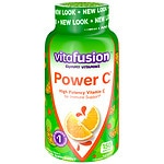 Vitafusion Power C, Immune Support, Gummy Vitamins for Adults, Absolutely Orange