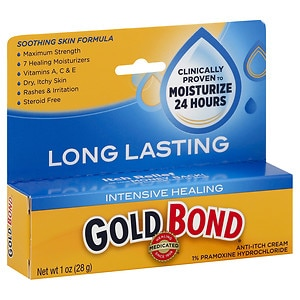 Gold Bond Intensive Healing Anti-Itch/Skin Protectant Cream, Unscented