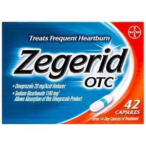 Zegerid OTC Acid Reducer Capsules- 42 ea