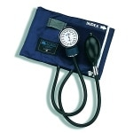 Mabis Caliber Series Adjustable Aneriod Sphygmomanometer, Large Adult Size Cuff