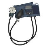Mabis Precision Series Aneriod Sphygmomanometer, Large Adult Size