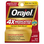 Orajel Instant Pain Relief  for Severe Toothache, Cooling Gel