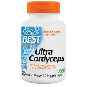 Doctor's Best Ultra Cordyceps, Veggie Caps- 60 ea