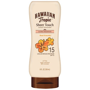 Hawaiian Tropic Sheer Touch Sunscreen Lotion, SPF 15