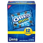 Nabisco Cookie Snack Packs, Mini Oreo- 12 ea