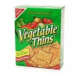 Nabisco Vegetable Thins Crackers- 8 oz
