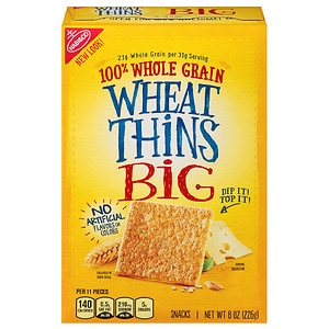 Nabisco Wheat Thins Crackers, Big- 8 oz