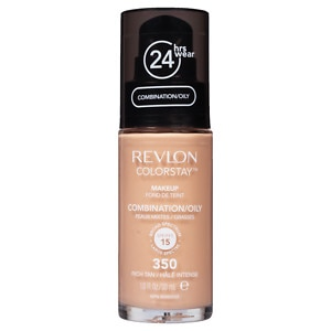 Revlon Colorstay for Combo/Oily Skin Makeup, Rich Tan 350