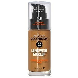 Revlon Colorstay for Combo/Oily Skin Makeup, Caramel 400- 1 fl oz