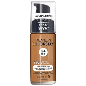Revlon Colorstay for Normal/Dry Skin Makeup with SoftFlex, Caramel 400- 1 fl oz