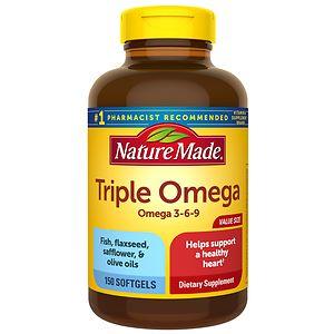 Nature Made Triple Omega, Liquid Softgels
