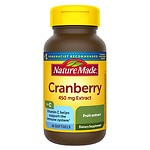 Nature Made Cranberry 450mg Extract with Vitamin C, Softgels