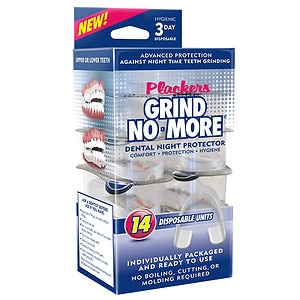 Plackers Grind-no-More Teeth Grinding Guard, Night Time Use- 14 ea