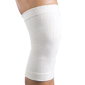 Maxar Wool Knee Brace (56% wool), White, Medium