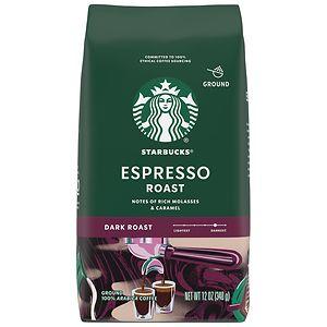 Starbucks Dark Roast, Espresso, Ground