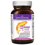 New Chapter WholeMega Prenatal 500mg Fish Oil Softgels