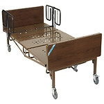 Drive Medical Full Electric Bariatric Hospital Bed with T Rails, 600 pound limit- 1 ea