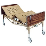 Drive Medical Full Electric Bariatric Hospital Bed, 600 pound