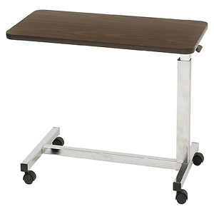 Drive Medical Low Height Overbed Table- 1 ea