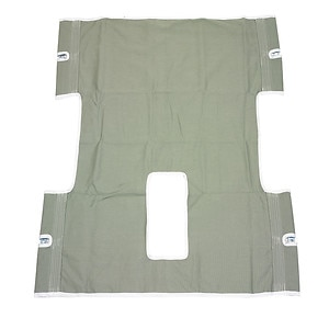 Drive Medical Bariatric Heavy Duty Canvas Sling with Commode Cutout- 1 ea