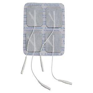 Drive Medical Square Pre Gelled Electrodes for TENS Unit- 1 ea