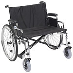 Drive Medical Sentra EC Heavy Duty Extra Wide Wheelchair with