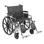 Drive Medical Sentra Extra Heavy Duty Wheelchair w Detachable