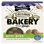 Three Dog Bakery Bitty Bites Oven Baked Treats, Assorted