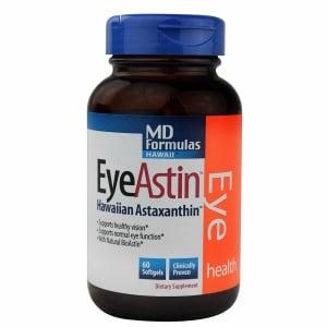 MD Formulas EyeAstin Hawaiian Astaxanthin- 60 ea