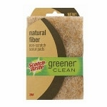 Scotch-Brite Greener Clean Natural Fiber Scour Pad