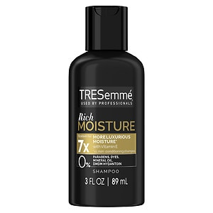 TRESemme Moisture Rich Vitamin E Shampoo for Dry or Damaged Hair, 3 fl oz (022400639123)