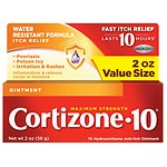 Cortizone 10 Hydrocortisone Anti-Itch Oinment, Maximum Strength- 2 oz