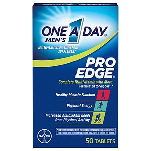 One A Day Men's Pro Edge Complete Multivitamin