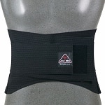 ITA-MED Breathable Duo-Adjustable Back Support with Back Pocket