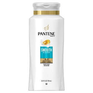 Pantene Pro-V Normal - Thick Hair Solutions Smooth 2 in 1 Shampoo & Conditioner
