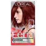 L'Oreal Paris Feria Permanent Haircolor, Auburn Brown 56