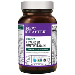 New Chapter Every Woman Multivitamin, Tablets- 120 ea