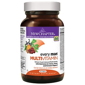 New Chapter Every Man Multivitamin, Tablets- 120 ea