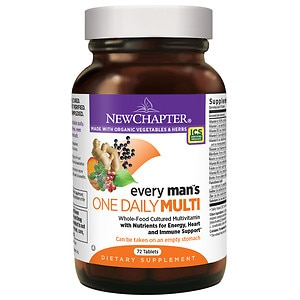 New Chapter Every Man's One Daily Multivitamin, Tablets- 72 ea