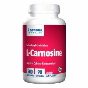 Jarrow Formulas L-Carnosine 500, Capsules- 90 ea