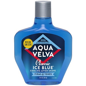Aqua Velva Classic Ice Blue After Shave, Classic Ice Blue- 7 fl oz