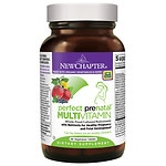 New Chapter Perfect Prenatal Multivitamin, Tablets- 96 ea