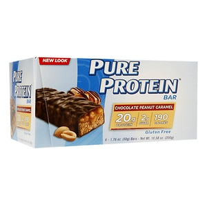 Pure Protein Revolution, High Protein Triple Layer Bar, Chocolate Peanut Caramel, 6 ea