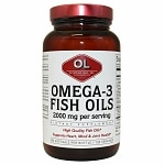 Olympian Labs Omega-3 Fish Oils 1000mg- 240 softgels
