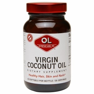 Olympian Labs Virgin Coconut Oil, Softgels